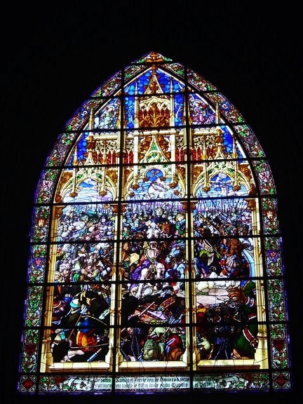 321. Vidriera Basilica Roncesvalles