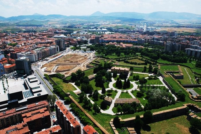 Vista de Pamplona
