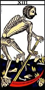carta de la muerte en el tarot significado