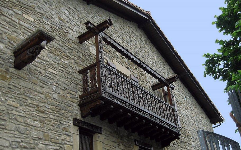 Balcón de Larrasoaña