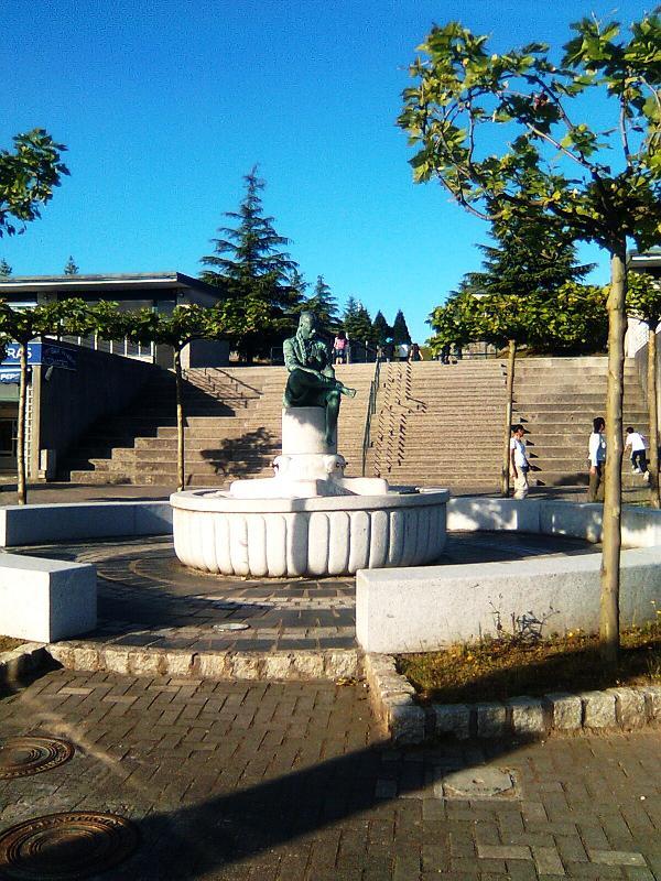 Fuente del Monte del Gozo