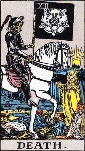 Carta Tarot La Muerte