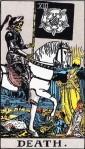 La muerte Rider Waite