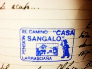 Sello casa Sangalo
