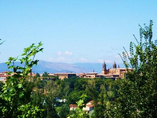 Vista de Pamplona desde Burlada