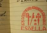 Sello del albergue de EStella