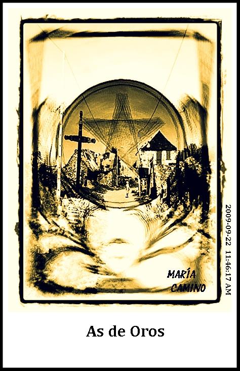 El As de Oros del Tarot del Camino