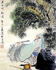Li Bai y el Pinio