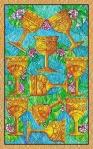 Diez de Copas del Tarot de Cristal