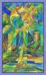 El arcano de la Luna del Tarot de Cristal