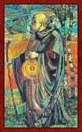 El arcano del Ermitaño del Tarot de Cristal