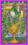 El Caballero de Copas del Tarot de Cristal