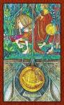 El Caballero de Oros del Tarot de Cristal