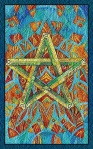 El Cinco de Bastos del Tarot de Cristal