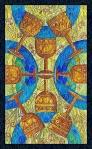 El ocho de copas del Tarot de Cristal