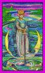 El Rey de Espadas del Tarot de Cristal