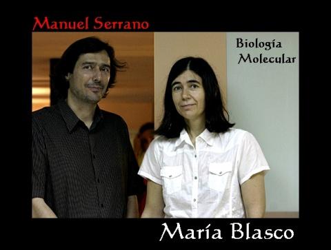 Manuel Serrano y María Blasco