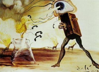 Salvador Dalí. Rapsodia moderna (Las 7 artes).1957