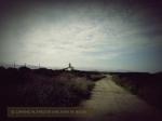 El camino al Faro de San Juan de Nieva