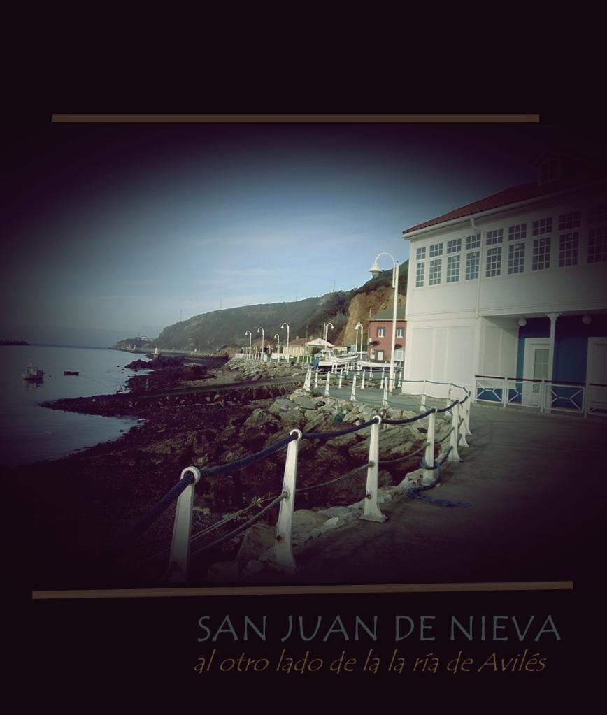 San Juan de Nieva al otro lado de la ría de Avilés