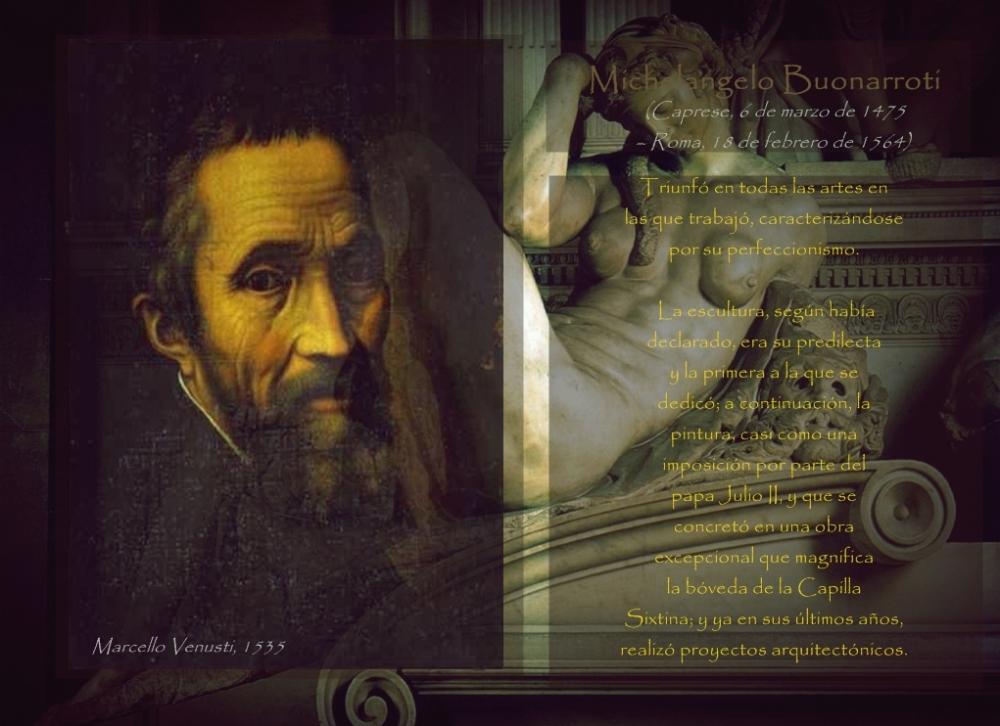 La Noche de Miguel Angel Buonarroti y su biografía