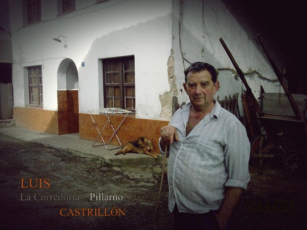 Luis de La Corredoria, Pillarno en Castrillón