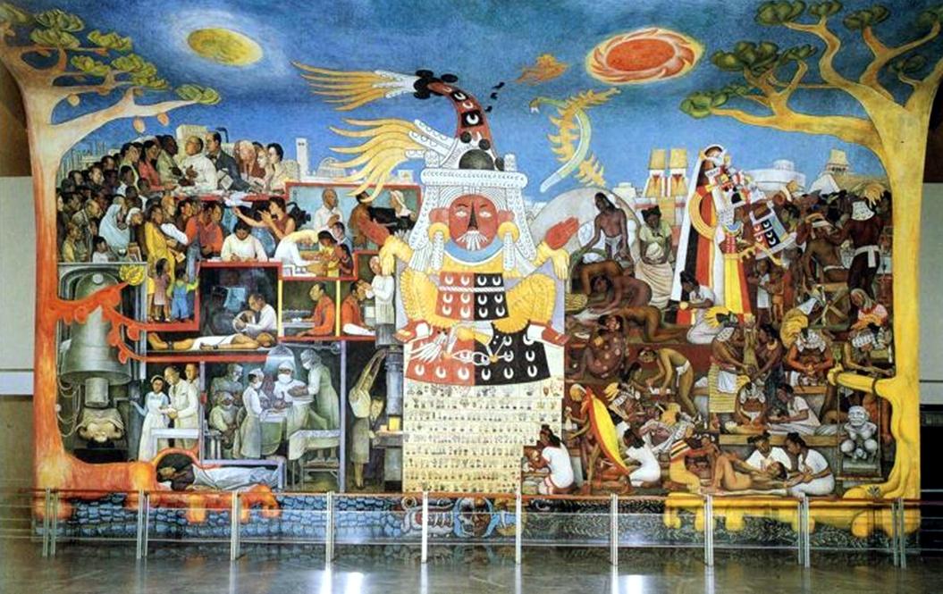 El pueblo en demanda de salud historia de la medicina en for Caracteristicas de un mural