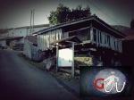 Indicaciones de la senda del Gorfoli en la aldea de La Carmona sobre Taborneda en Illas