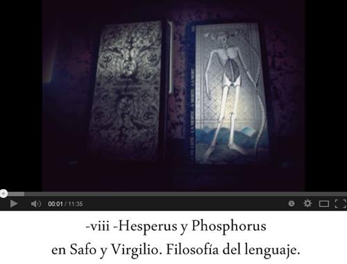 Hesperus y Phosphorus en Safo y Virgilio y filosofía del lenguaje