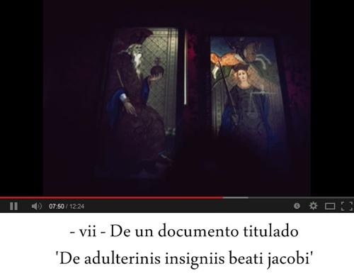 vii. De un documento titulado 'De adulterinis insigniis beati jacobi'