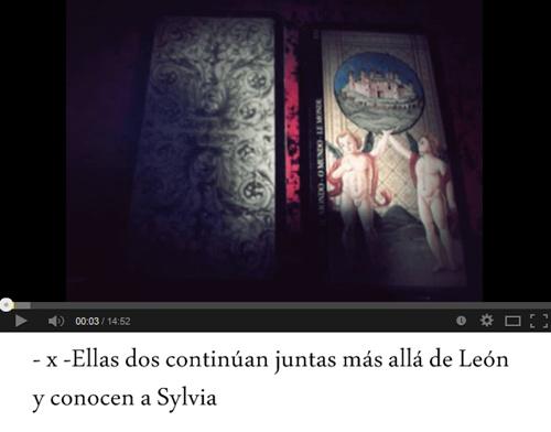 x. Ellas dos continúan juntas más allá de León y conocen a Sylvia