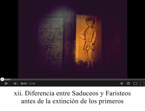 xii. Diferencia entre Saduceos y Faristeos antes de la extinción de los primeros