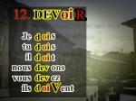 El presente del verbo Deber
