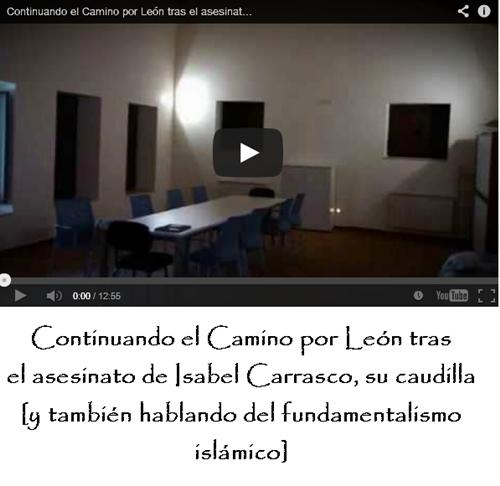 Isabel Carrasco no es motivo de habladurias