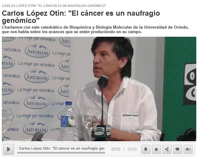el cáncer es un naufragio genómico