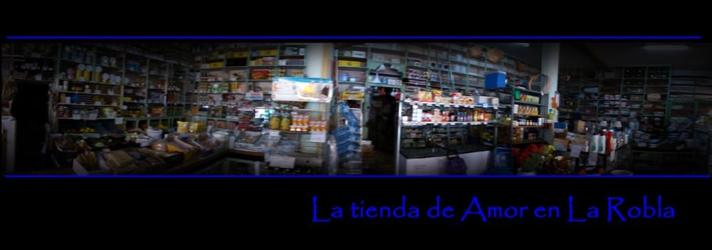 La tienda de Amor en la Robla