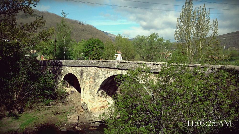 Puente de Alba de origen medieval