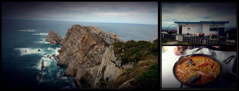El Cabo Peñas y el Bar Cuatro Vientos en San Bartolomé de Viodo