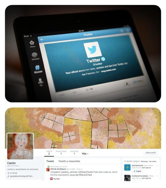 Las categorías en Twitter