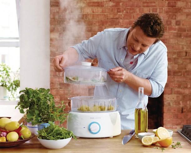 Vaporera de Philips de Jamie Oliver