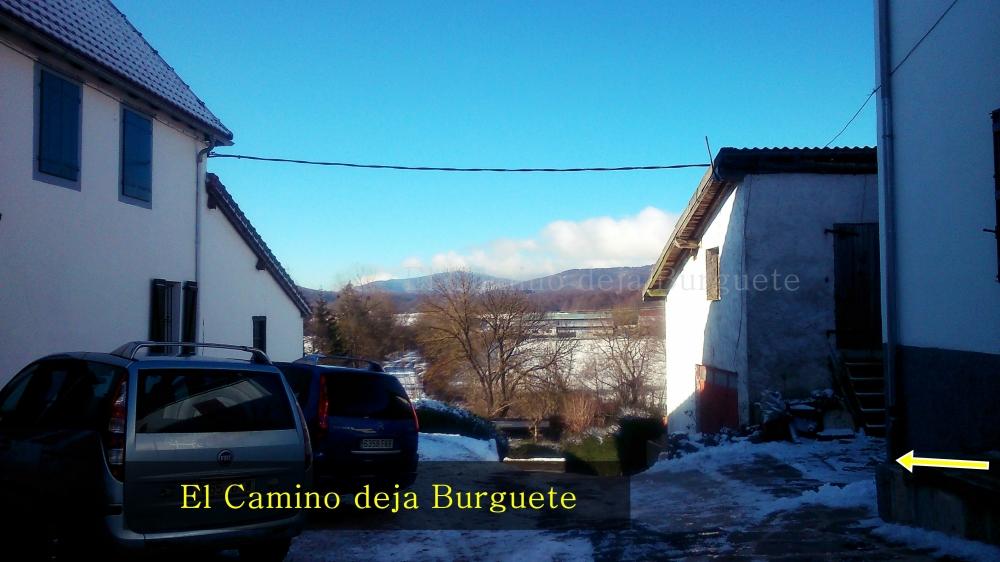 El Camino deja Burguete