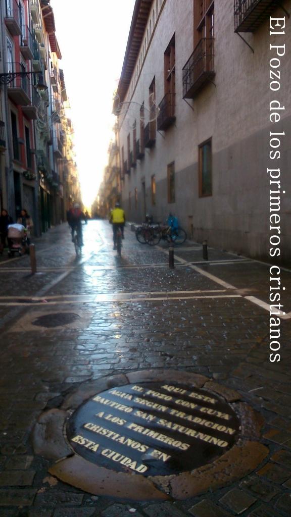 El Pozo de los primeros cristianos en Pamplona