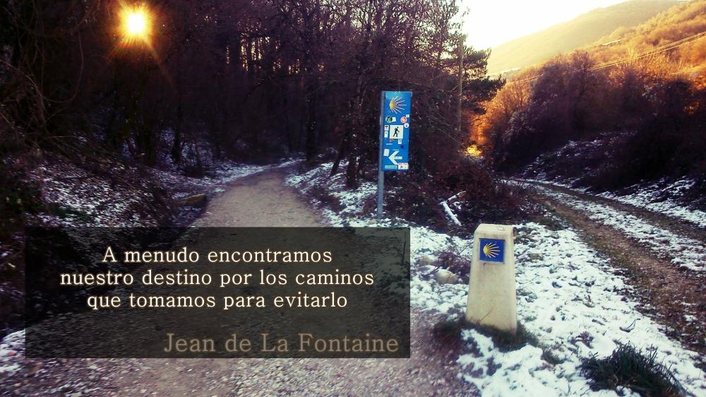 el camino a Linzoáin