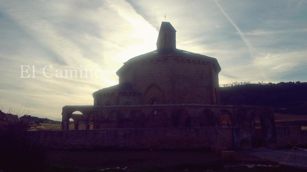 Santa María de Eunate en el Camino