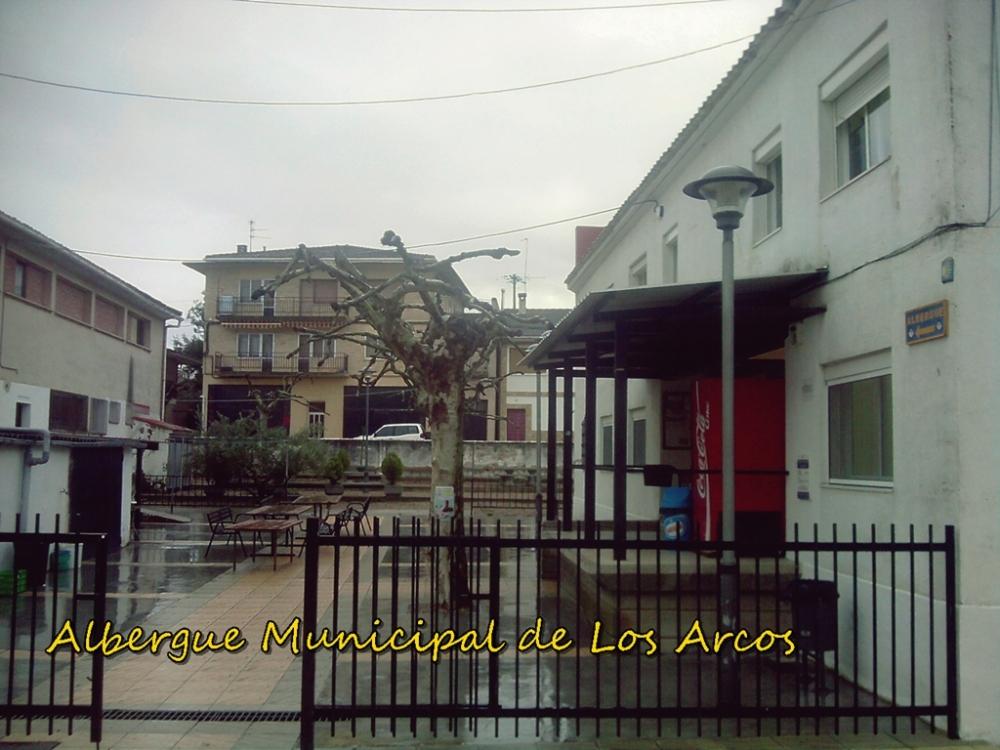 albergue municipal de Los Arcos