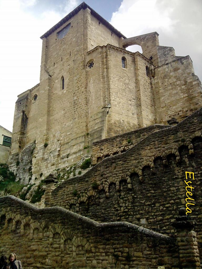 arquitectura sacra en Estella