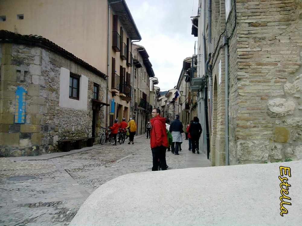 Calle de la Rúa en Estella