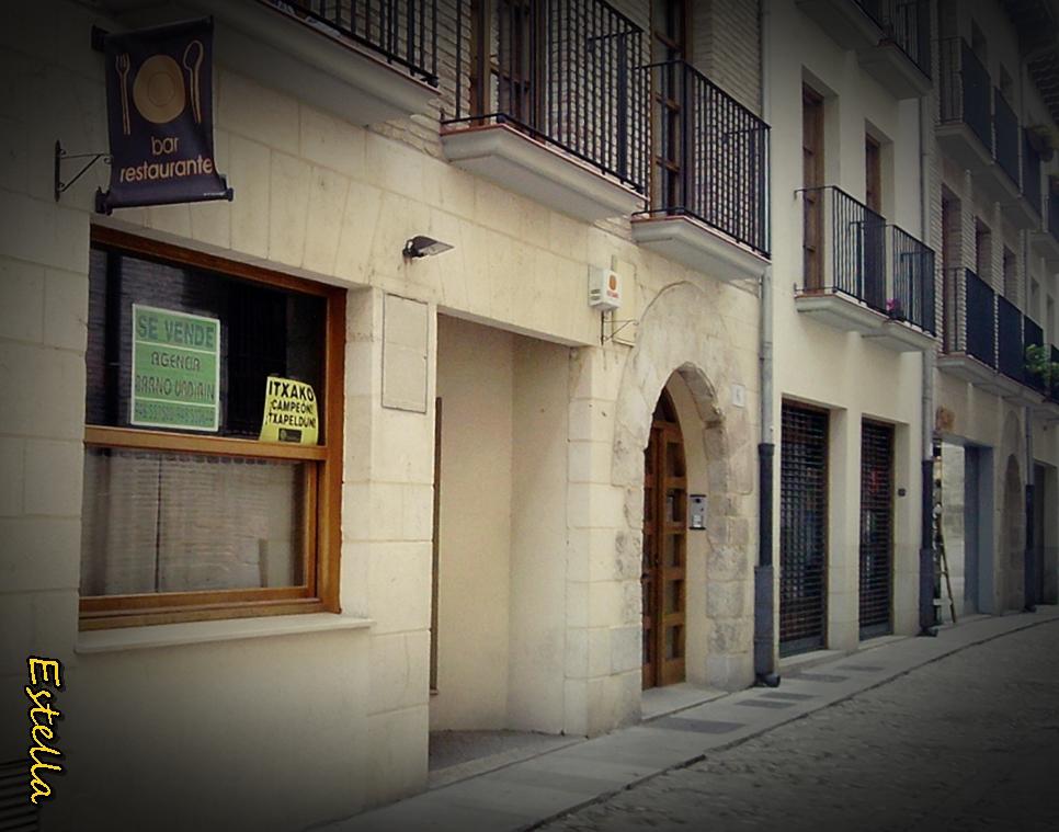 El bar en Estella