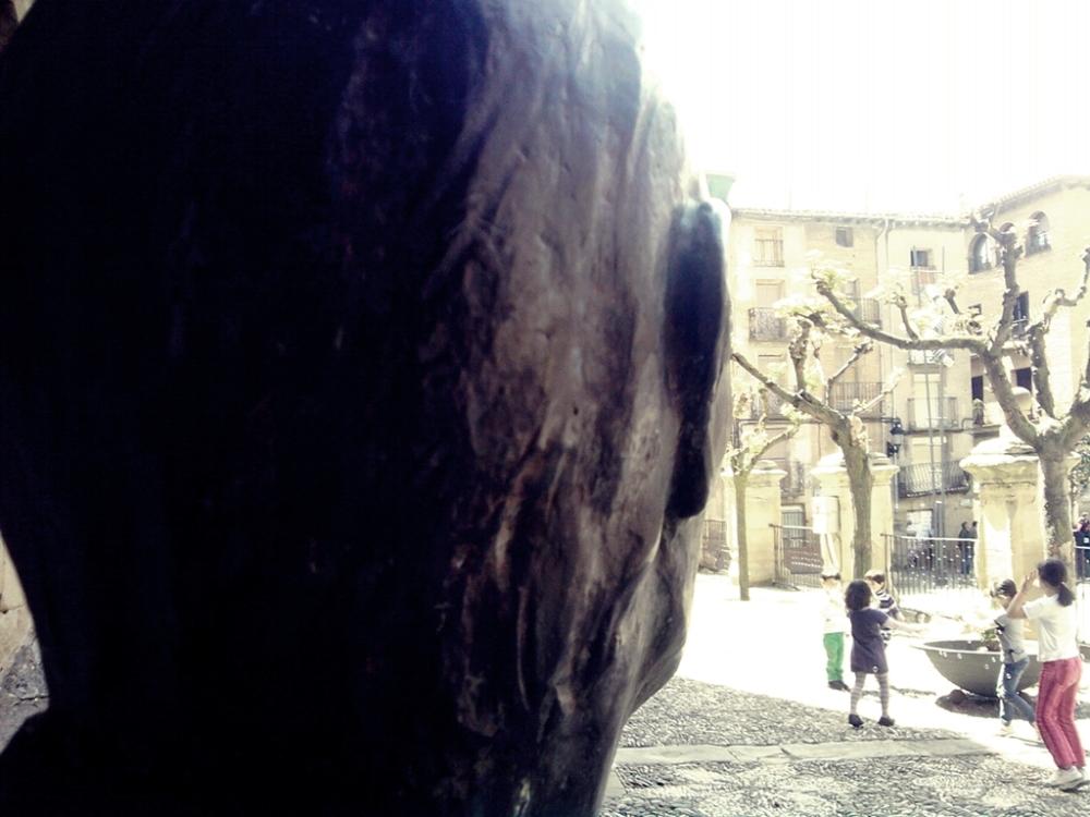 La cabeza del auroro