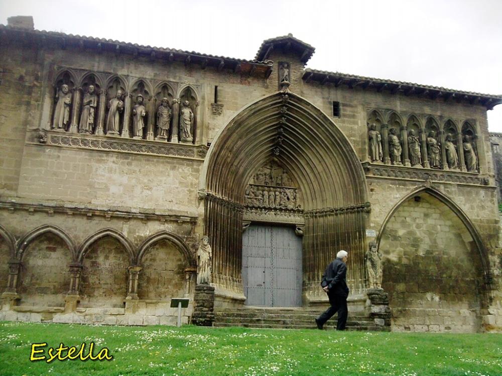 La iglesia del Santo Sepulcro en Estella